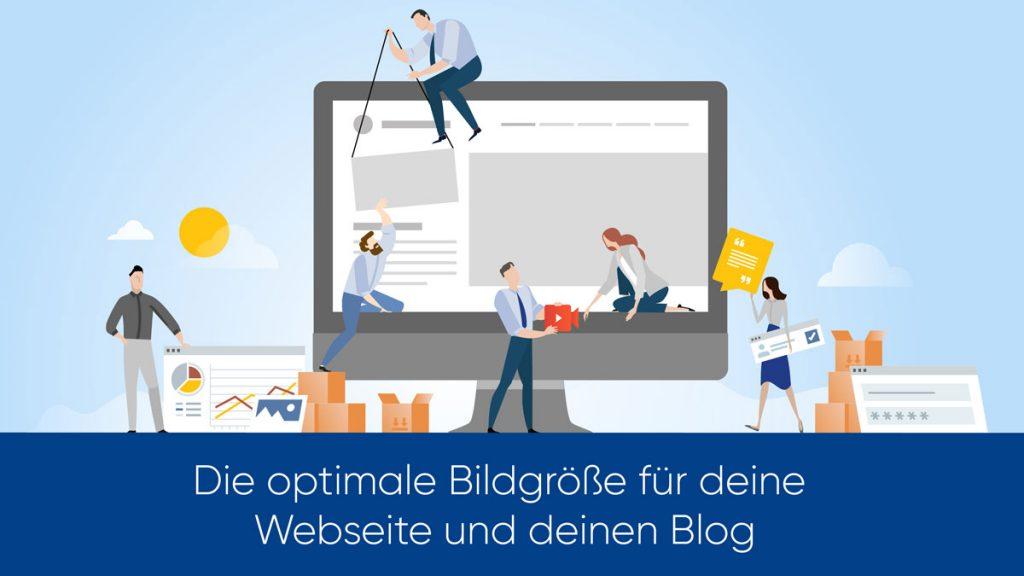 Die optimale Bildgröße für deine Webseite und deinen Blog