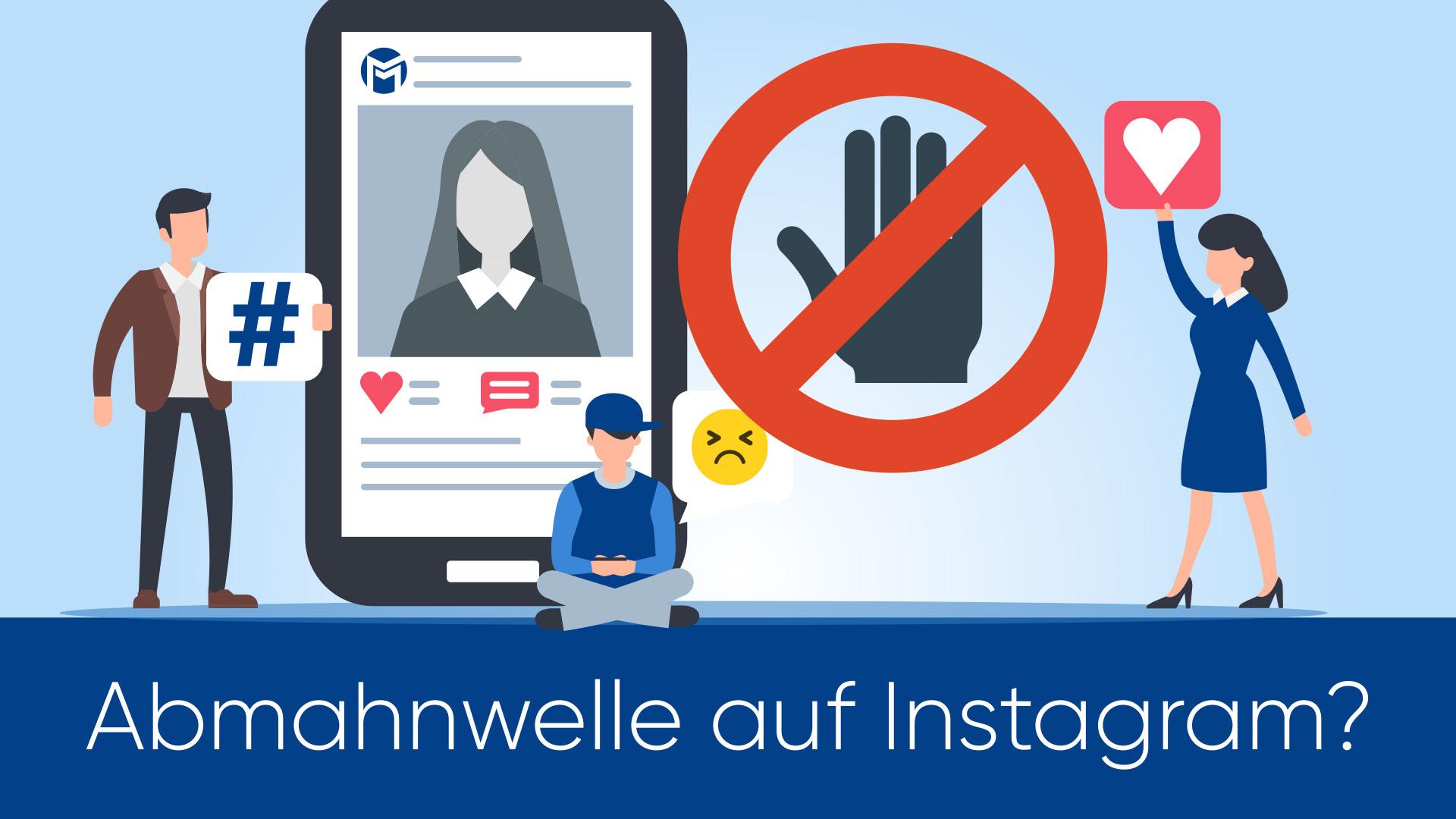 Abmahnwelle Instagram