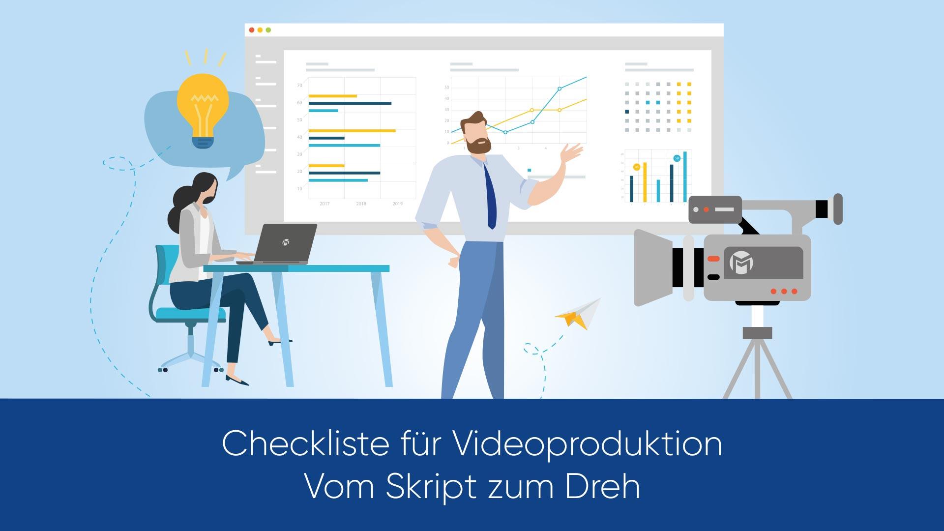 Checkliste für Videoproduktion - Vom Skript zum Dreh