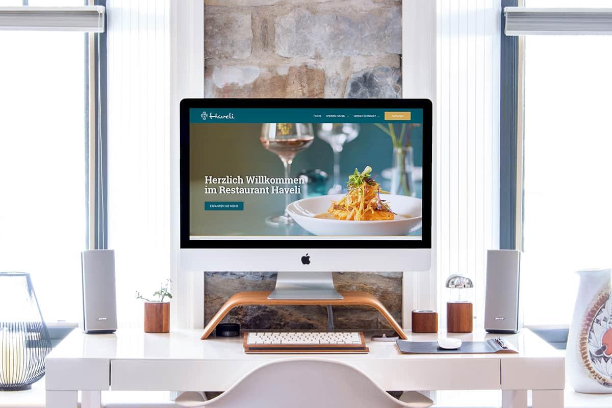 Martel Media - Webdesign - Restaurant Haveli