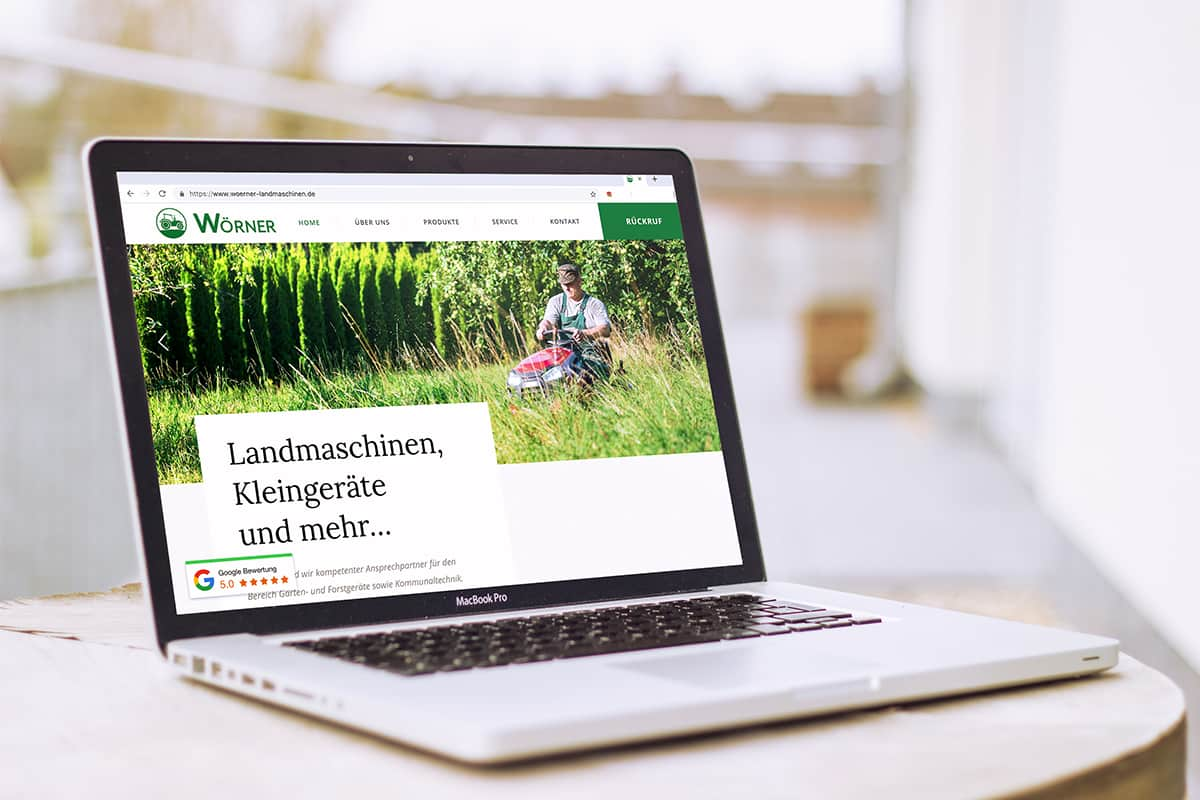 Martel Media - Webdesign Landmaschinen Wörner