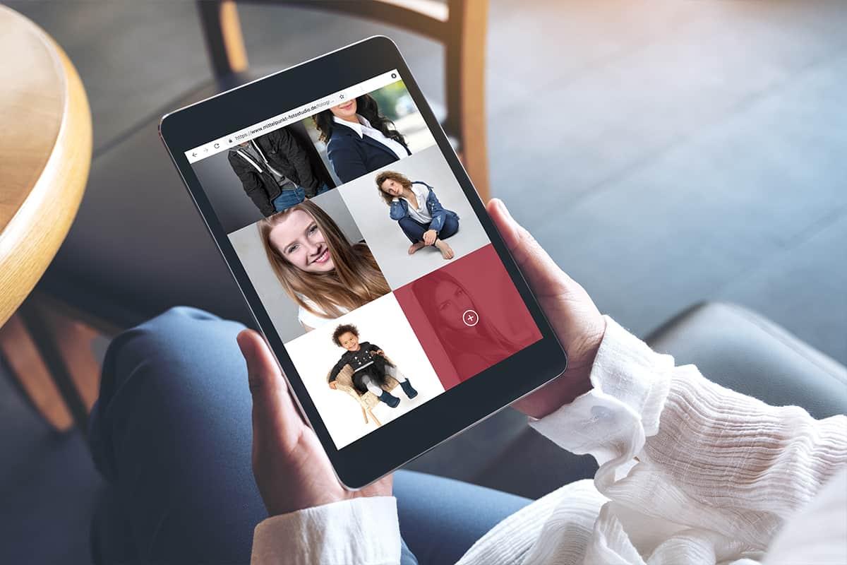 Martel Media - Responsive Webdesign Tablet