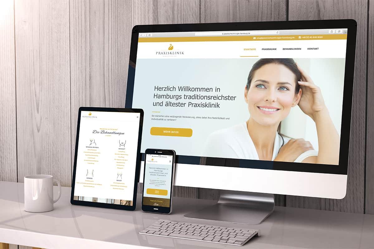 Martel Media - Webdesign für verschiedene Endgeräte
