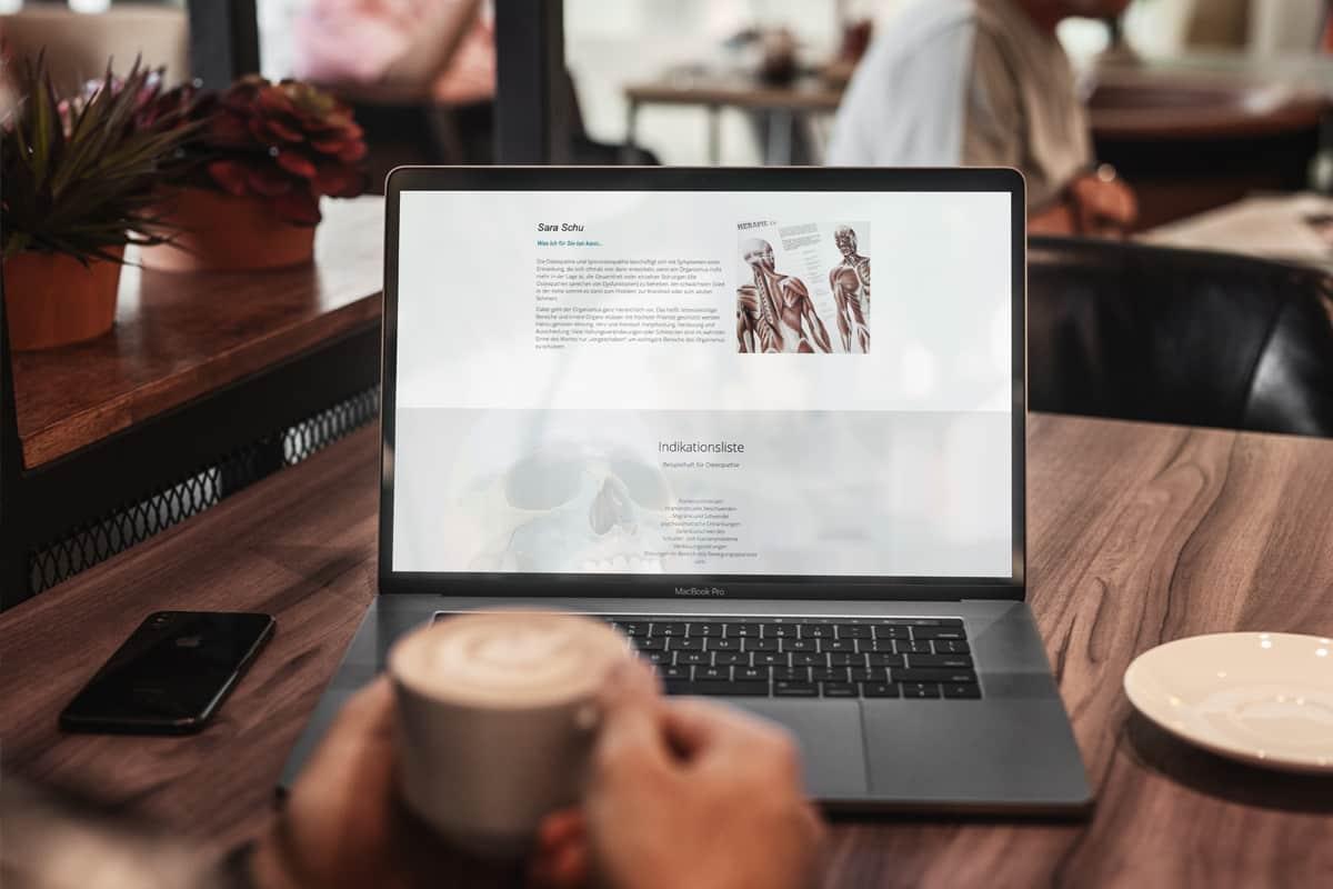Webseiten für Ihre Praxis