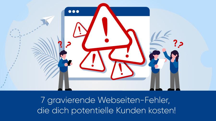 Webseiten-Fehler
